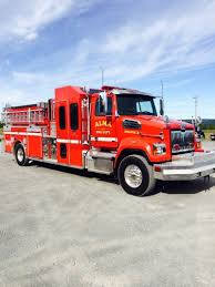 well maintained fire truck ready for action