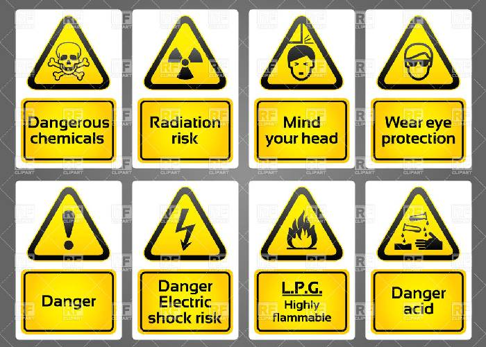 Various Types of Industrial Signs