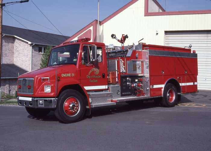 Image of A New Smeal Fire Truck
