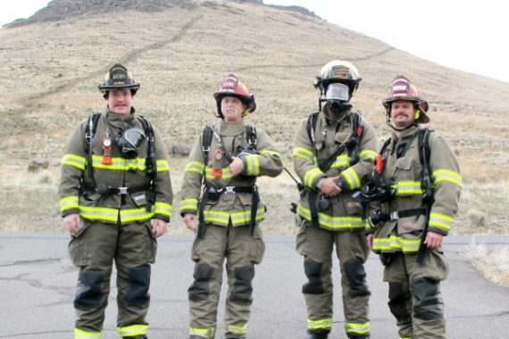 An image representing fire fighters
